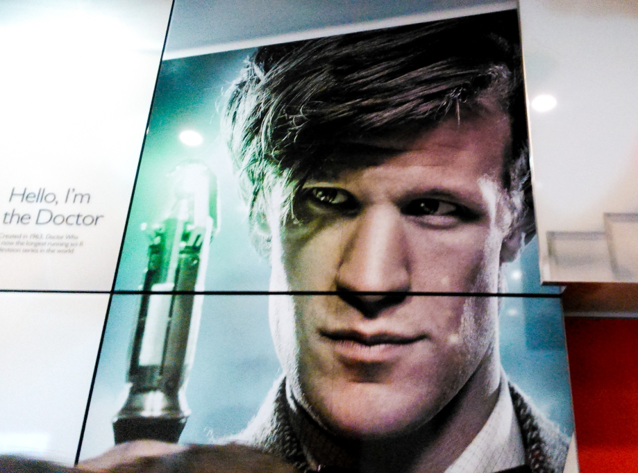 Matt Smith as The Doctor at BBC Broadcasting House
