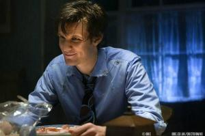It seems like yesterday... Matt Smith on his first DW episode, back in 2010