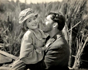 Dreamy: Janet Gaynor and George O'Brien in Sunrise