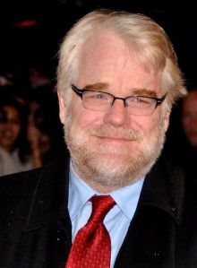 "Hoffman in 2011 at the premiere of ""The Ides of March"" - © Georges Biard"