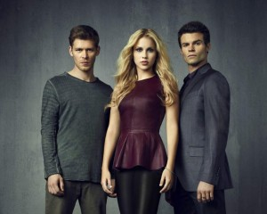 """Always and forever"": Joseph Morgan, Claire Holt and Daniel Gillies"