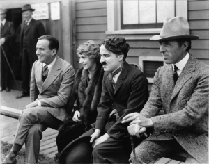 Fairbanks, Pickford, Chaplin and Griffith, founders of United Artists