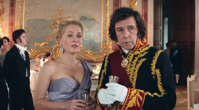Gillian Anderson War and Peace Episode 1