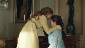 war and peace ep2 lily james natasha