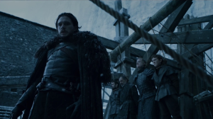 GoT 6x03 Jon executes his killers