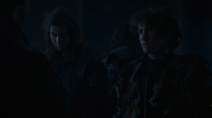 GoT 6x03 Osha and Rickon