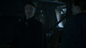 GoT 6x05 Littlefinger and Sansa