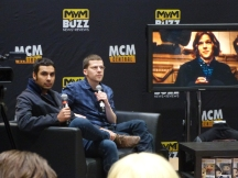 Kunal Nayyar and Jesse Eisenberg talk about The Spoils