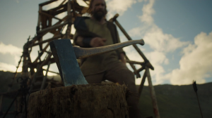 GoT 6x07 sandor gets the axe