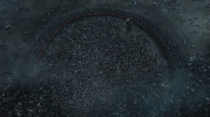 GoT 6x09 Stark army surrounded