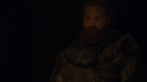 GoT 6x09 tormund's face