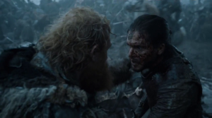 Battle of the Bastards Jon and Tormund