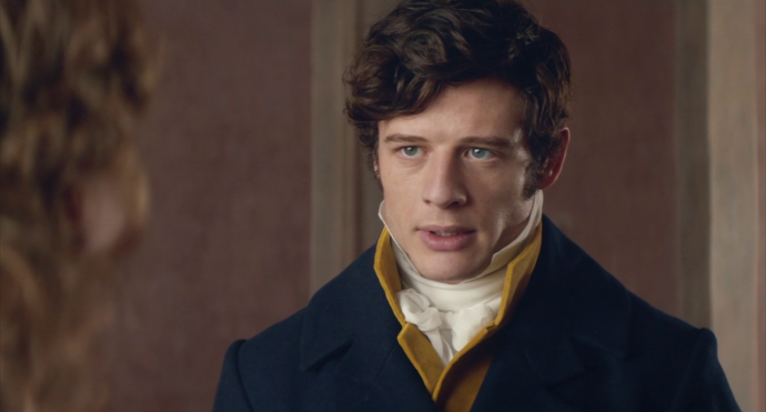 War and Peace 2016 Episode 4 James Norton Andrei