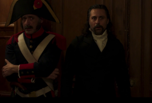 el ministerio del tiempo 4x07 preterito imperfecto pacino alonso guard door